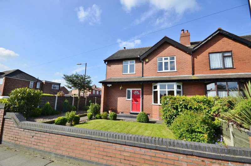 3 Bedrooms Semi Detached House for sale in Deansgate Lane, Timperley, Altrincham