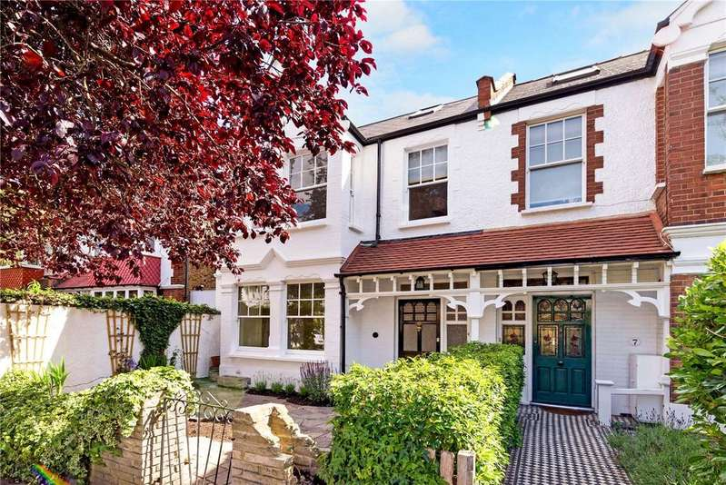 5 Bedrooms Semi Detached House for sale in Nassau Road, Barnes, London, SW13