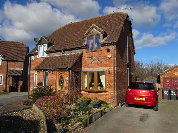2 Bedrooms Semi Detached House for sale in Lords Close, Edlington, Doncaster, DN12 1SE