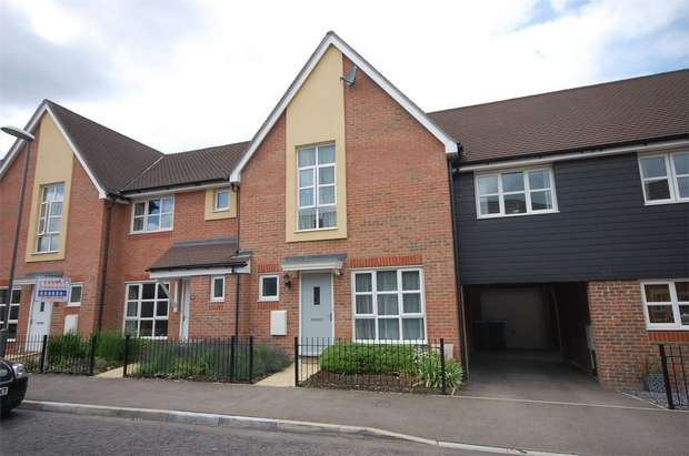 3 Bedrooms Terraced House for sale in Gwendoline Buck Drive, Aylesbury, Buckinghamshire