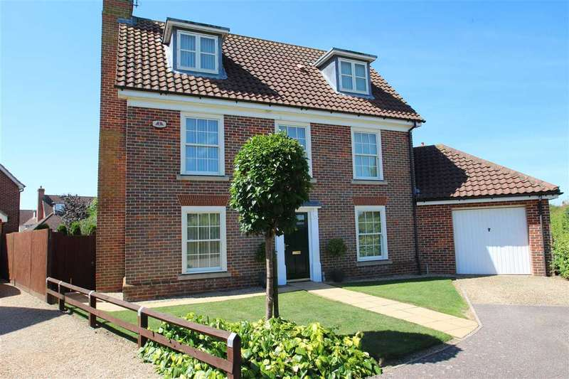 4 Bedrooms Detached House for sale in Curtis Way, Grange Farm, Kesgrave, Ipswich