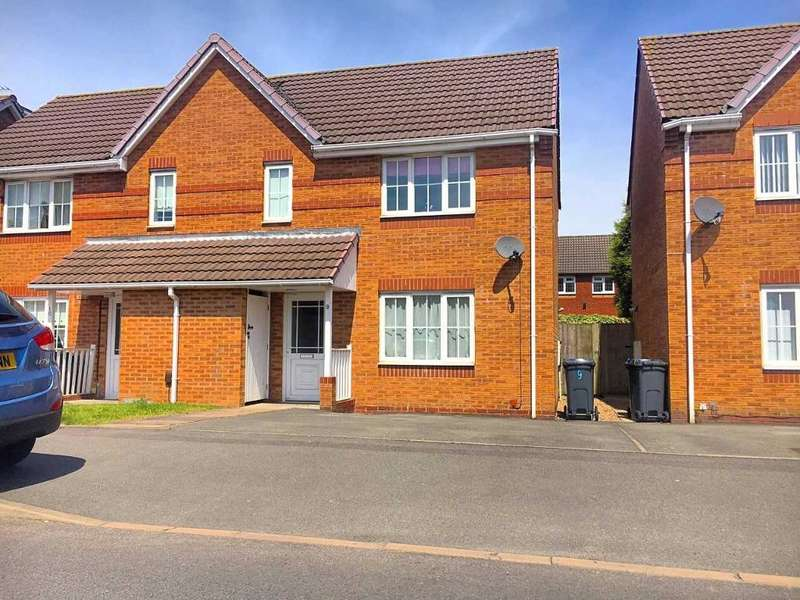 3 Bedrooms Semi Detached House for sale in HOBART ROAD, TIPTON, WEST MIDLANDS, DY4 9LZ