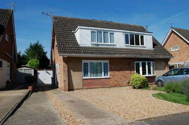 3 Bedrooms Semi Detached House for sale in Ryeland Road, Duston, Northampton NN5 6XN