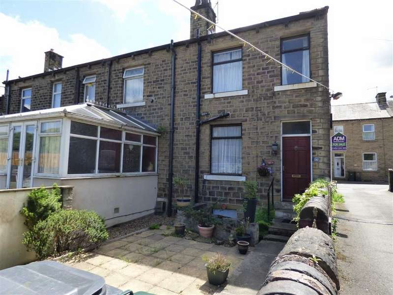 2 Bedrooms End Of Terrace House for sale in George Street, Milnsbridge, Huddersfield