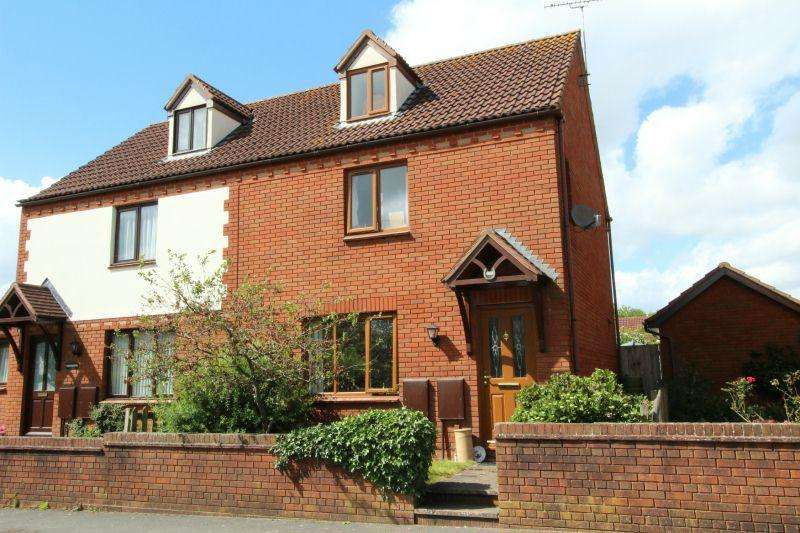 3 Bedrooms Semi Detached House for sale in TALATON ROAD, WHIMPLE