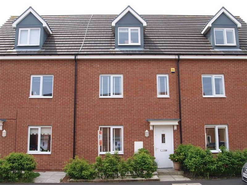 4 Bedrooms Town House for sale in Alexandra Chase, Cramlington