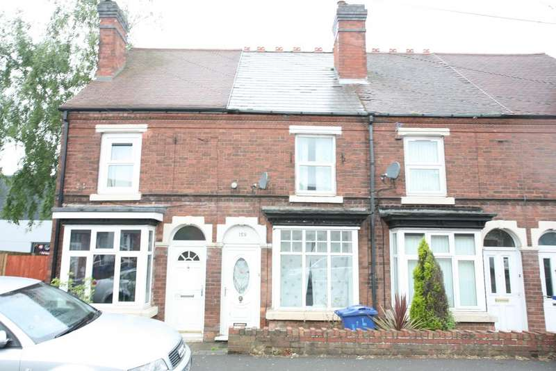 3 Bedrooms Terraced House for sale in 159 Stafford Road, Cannock, WS11 4AL (For Sale by Auction Monday 3rd July 2017)