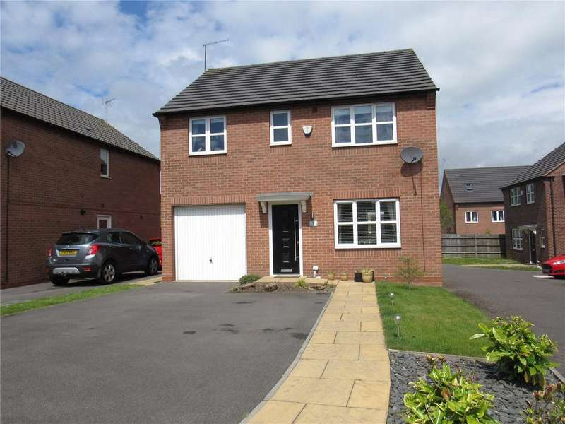 4 Bedrooms Detached House for sale in Blackshale Road, Mansfield Woodhouse, Nottinghamshire, NG19