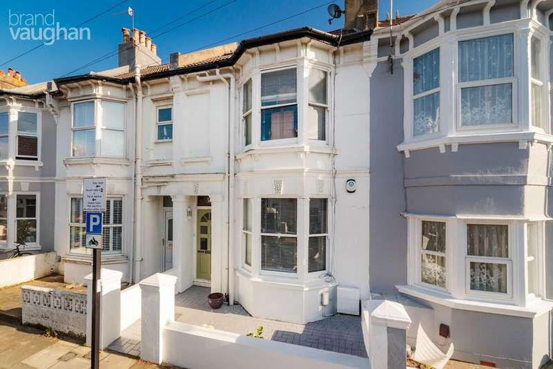 4 Bedrooms Terraced House for sale in Shakespeare Street, Hove, BN3