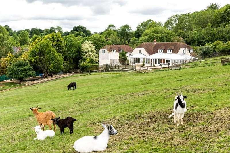 4 Bedrooms House for sale in Manor Lane, Baydon, Marlborough, Wiltshire, SN8