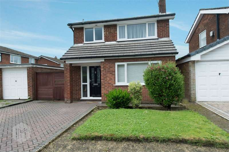3 Bedrooms Detached House for sale in Brynhall Close, Radcliffe, Manchester, Lancashire