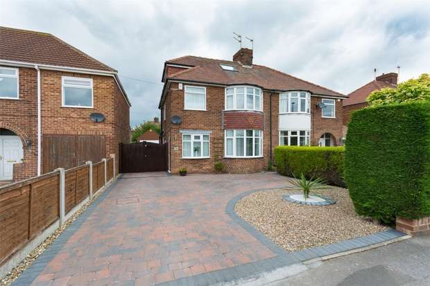 4 Bedrooms Semi Detached House for sale in Bad Bargain Lane, Burnholme, YORK