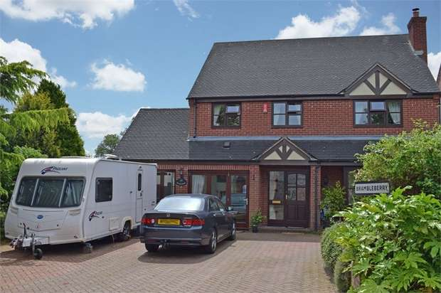 4 Bedrooms Detached House for sale in Halfway House, Shrewsbury, Shropshire