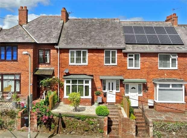 4 Bedrooms Terraced House for sale in Hamlin Lane, Heavitree, EXETER, Devon