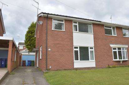3 Bedrooms Semi Detached House for sale in Arden Close, Rugeley, Staffordshire