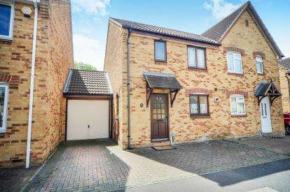 3 Bedrooms Semi Detached House for sale in Darius Way, Abbey Meads, Swindon, Wiltshire