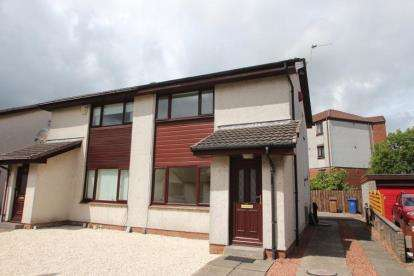 2 Bedrooms Semi Detached House for sale in Loudon Gardens, Johnstone, Renfrewshire