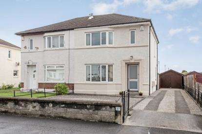 3 Bedrooms Semi Detached House for sale in Bathgo Avenue, Paisley