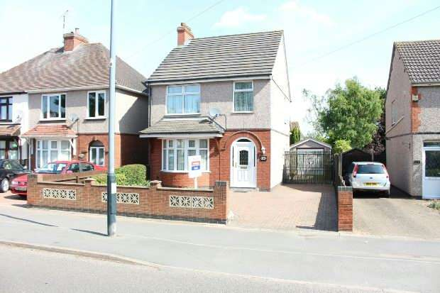 3 Bedrooms Detached House for sale in Ansley Road, Nuneaton
