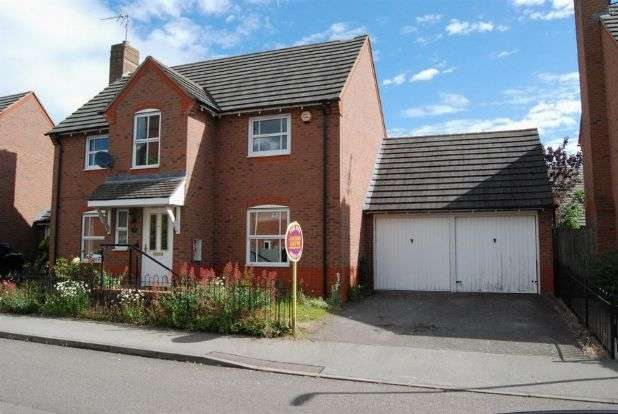4 Bedrooms Detached House for sale in Wilson Close, Daventry, Northampton NN11 9WH