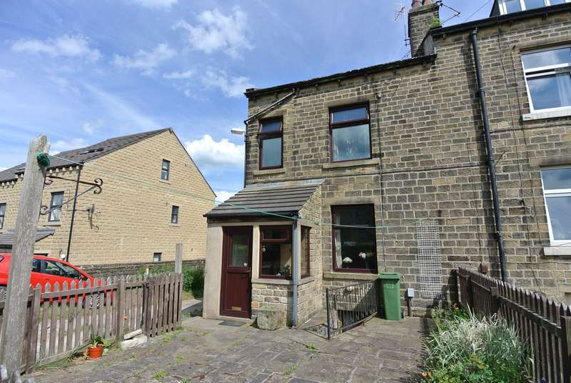 2 Bedrooms Terraced House for sale in Fisher Green, Honley, Holmfirth, HD9