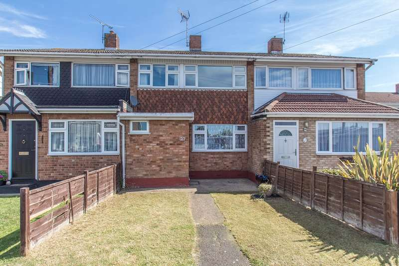3 Bedrooms Terraced House for sale in Westerland Avenue, Canvey Island, SS8
