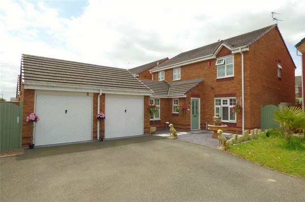 4 Bedrooms Detached House for sale in Okeford Way, Heritage Park, Nuneaton, Warwickshire