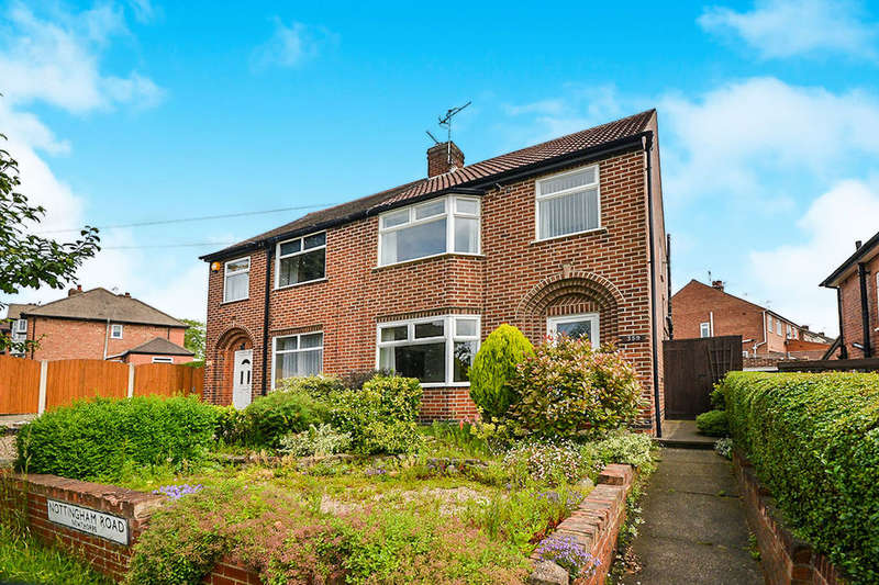3 Bedrooms Semi Detached House for sale in Nottingham Road, Newthorpe, Nottingham, NG16