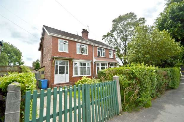 3 Bedrooms Semi Detached House for sale in Adswood Road, Stockport, Cheshire