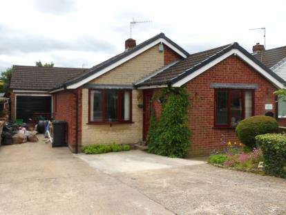 3 Bedrooms Bungalow for sale in Ashover Road, Inkersall, Chesterfield, Derbyshire