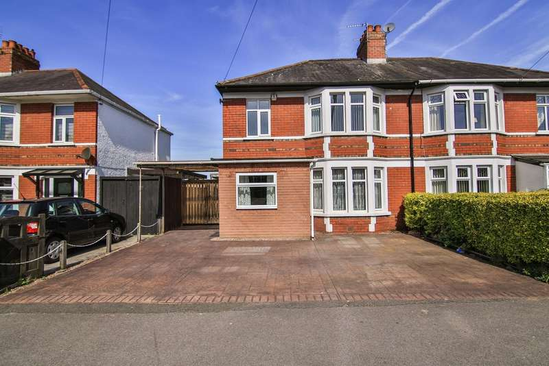 3 Bedrooms Semi Detached House for sale in Heol Y Nant, Rhiwbina, Cardiff