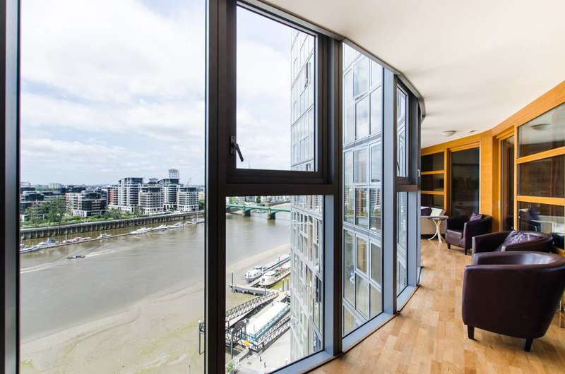 4 Bedrooms Flat for rent in Lombard Road, Wandsworth, SW11