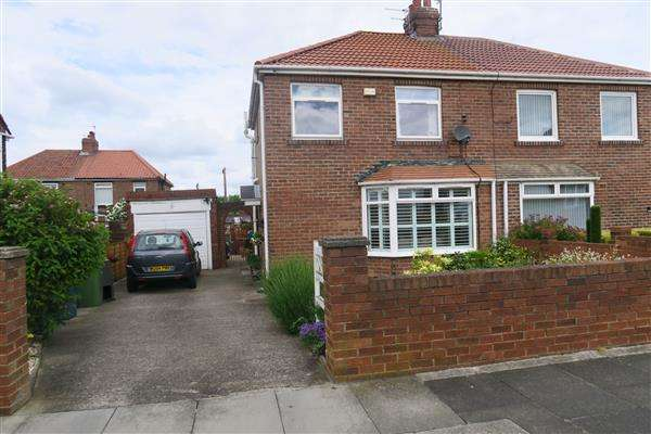 2 Bedrooms Semi Detached House for sale in Cloister Avenue, South Shields