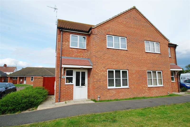 2 Bedrooms Semi Detached House for sale in Wells Close, Winthorpe, Skegness