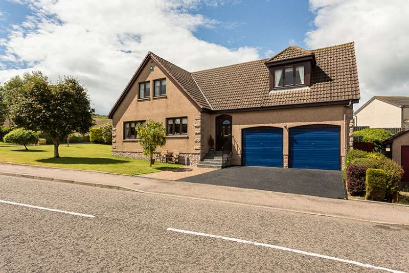 5 Bedrooms Detached House for sale in West Park Crescent, Inverbervie, Montrose, Angus, DD10 0TX