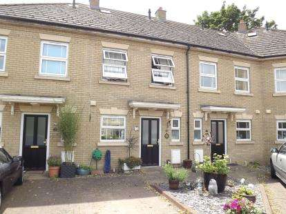 2 Bedrooms Terraced House for sale in Albion Court, Sandy, Bedfordshire