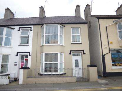 3 Bedrooms End Of Terrace House for sale in Greenfield Terrace, Holyhead, Sir Ynys Mon, LL65