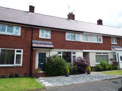 3 Bedrooms Terraced House for sale in Tan Yr Hafod, Gwernaffield, Mold, Flintshire, CH7