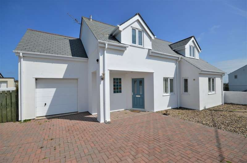 4 Bedrooms Detached House for sale in Goonbell, St Agnes, Cornwall