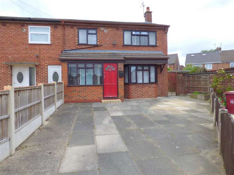 3 Bedrooms Terraced House for sale in Cowper Way, Huyton, Liverpool