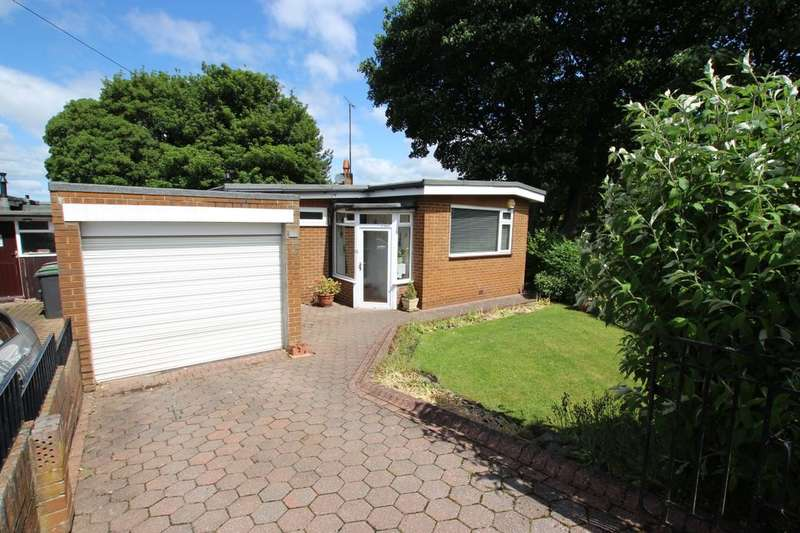 3 Bedrooms Detached Bungalow for sale in Westwood Close, Burnopfield, NE16