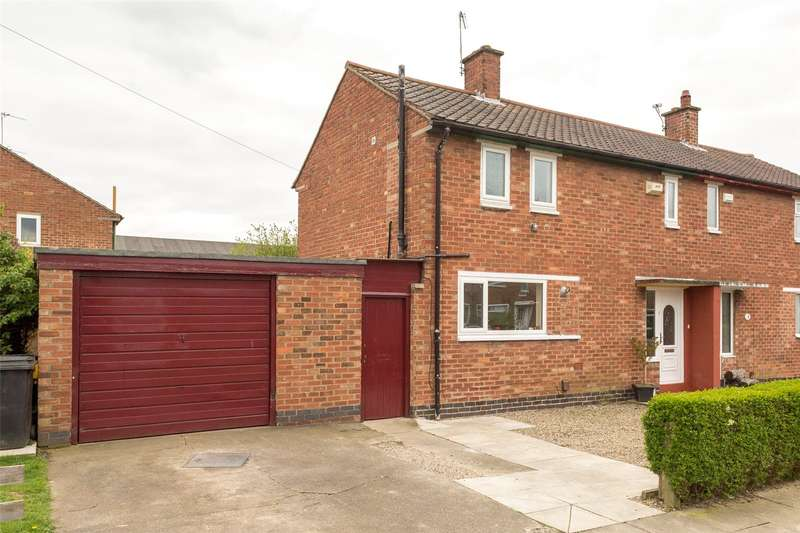 3 Bedrooms Semi Detached House for sale in Wharfe Drive, York, YO24