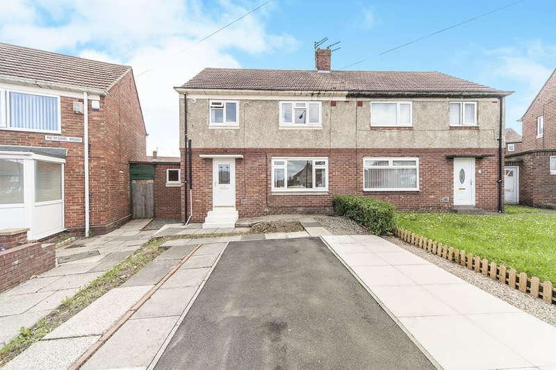 3 Bedrooms Semi Detached House for sale in Retford Road, Redhouse, Sunderland, SR5