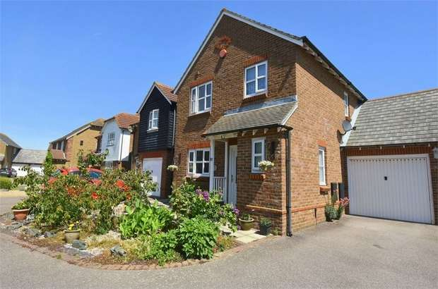 3 Bedrooms Detached House for sale in Mariners Lea, Broadstairs, Kent