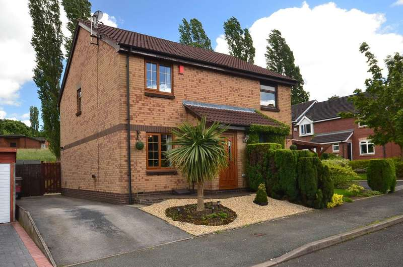 2 Bedrooms Semi Detached House for sale in ****NEW**** Berryfield Grove, Weston Coyney, ST3 5XN