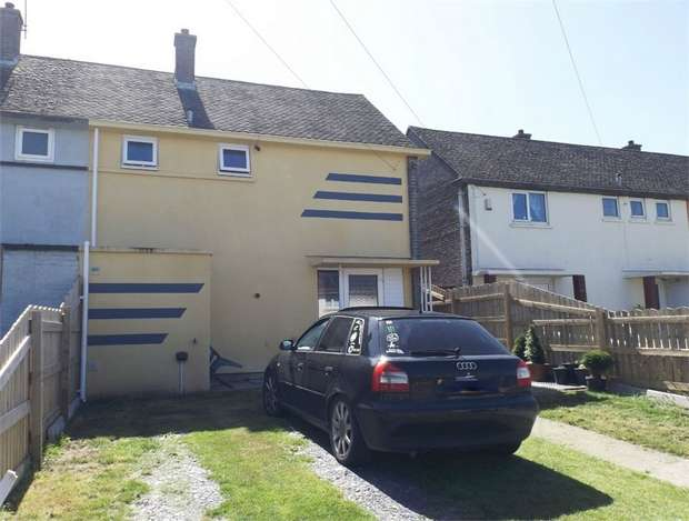 2 Bedrooms Semi Detached House for sale in Traffwll Road, Caergeiliog, Holyhead, Anglesey