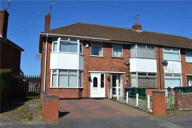 3 Bedrooms End Of Terrace House for sale in Tallants Road, Courthouse Green, Coventry, West Midlands.
