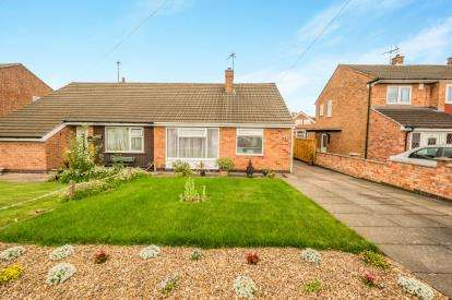 2 Bedrooms Bungalow for sale in Allington Drive, Birstall, Leicester, Leicestershire