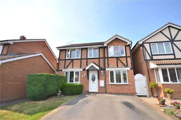 4 Bedrooms Detached House for sale in Jacob Close, Bracknell, Berkshire