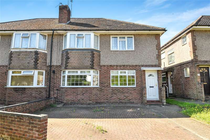 2 Bedrooms Maisonette Flat for sale in Fulham Close, Uxbridge, Middlesex, UB10